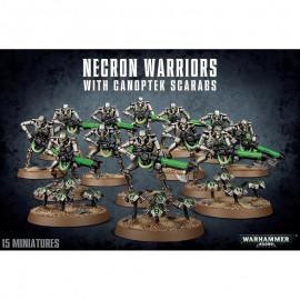 NECRON WARRIORS WITH CANOPTEK GAMES WORKSHOP