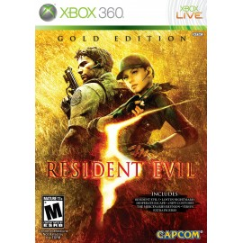 USATO RESIDENT EVIL 5 GOLD EDITION   X360 USATO