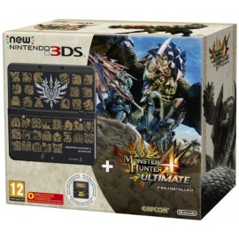 CONSOLE 3DS CON MONSTER HUNTER 4 ULTIMATE