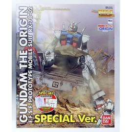 GUNDAM ORIGIN PROTOTYPRE RX 78 02 SPECIAL VER BANDAI