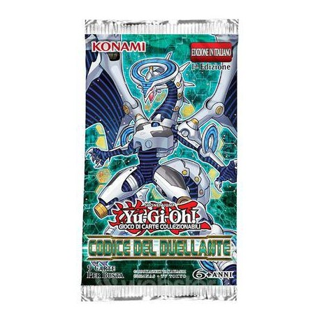 BUSTE YUGIOH  CODICE DEL DUELLANTE KONAMI CORPORATION UPPER DECK