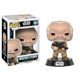 Bobble Star Wars Rogue One Weeteef Cyubee FUNKO