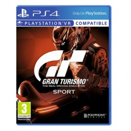 GRAN TURISMO REAL DRIVING PS4