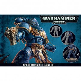 Space Marines + Paint warhammer 40.000 GAMES WORKSHOP