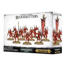Bloodletters of Khorne Daemons Warhammer Fantasy 40k GAMES WORKSHOP