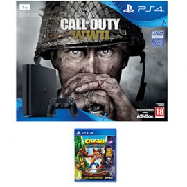 CONSOLE PlayStation 4 1TB con Call of Duty WWII e Dimmi chi sei e crash b