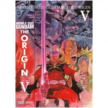GUNDAM ORIGIN clash oat loum blu-ray