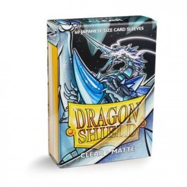 BUSTE PROTEGGI CARD YUGIOH 60 PEZZI CLEAR DRAGON SHIELD