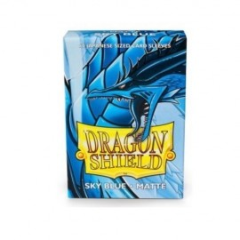 BUSTE PROTEGGI CARD YUGIOH 60 PEZZI SKY BLUE DRAGON SHIELD