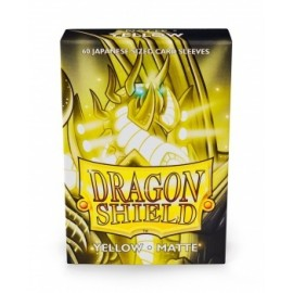BUSTE PROTEGGI CARD YUGIOH 60 PEZZI YELLOW DRAGON SHIELD