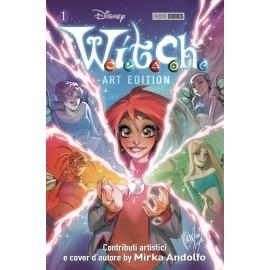 WITCH ART EDITION CON COVER DI MIRKA ANDOLFO n. 1
