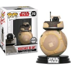 Star Wars the Last Jedi Pop 210 Resistance Bb Unit FUNKO