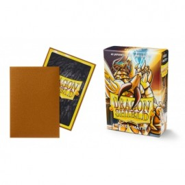 BUSTE PROTEGGI CARD YUGIOH 60 PEZZI GOLD DRAGON SHIELD