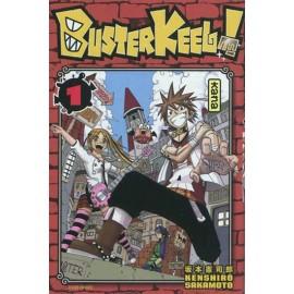 BUSTER KEEL serie completa di kenshiro sakamoto