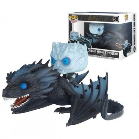 Game of Thrones Viserion and Night King FUNKO