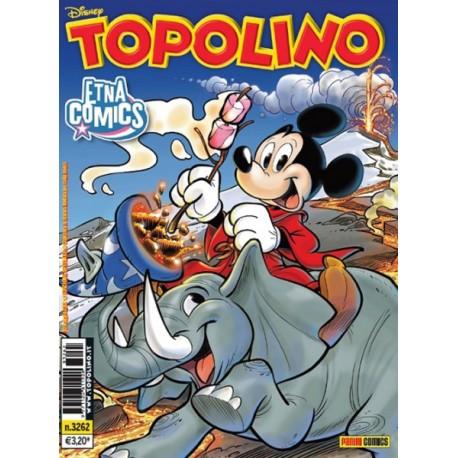 TOPOLINO VARIANT ETNA COMICS 2018 n. 3262