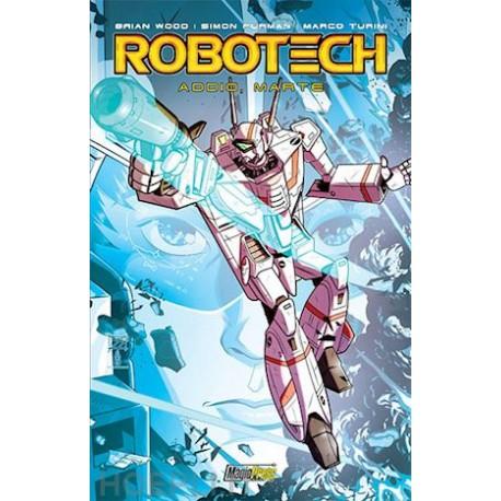 ROBOTECH ADDIO MARTE DI WOOD E TURINI n. 2