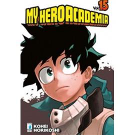 MY HERO ACADEMIA DI MASASHI KISIMOTO n. 15