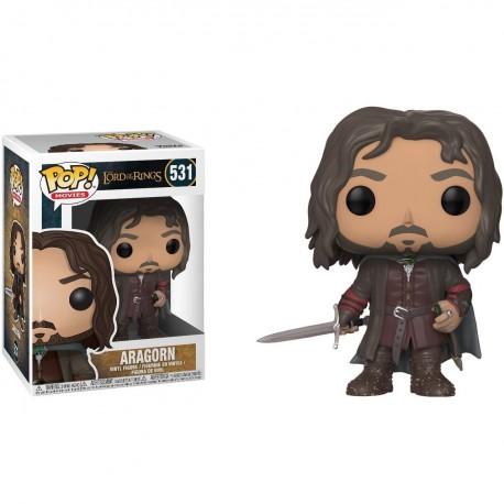 Lord of the Rings Pop Vinyl Figure 531 Aragorn FUNKO