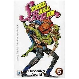 JO JO STEEL BALL RUN n. 5