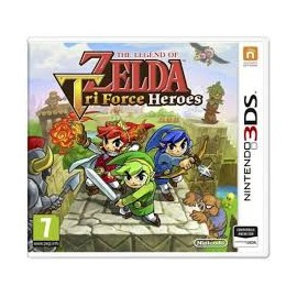 USATO ZELDA TRI FORCE HEROES 3DS USATO