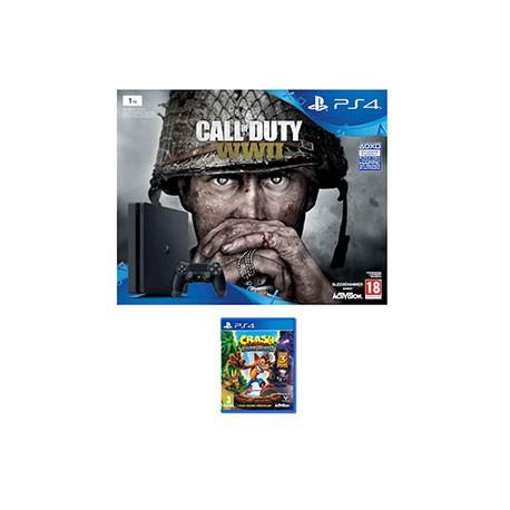CONSOLE PlayStation 4 1TB con Call of Duty WWII e Dimmi chi sei e crash b