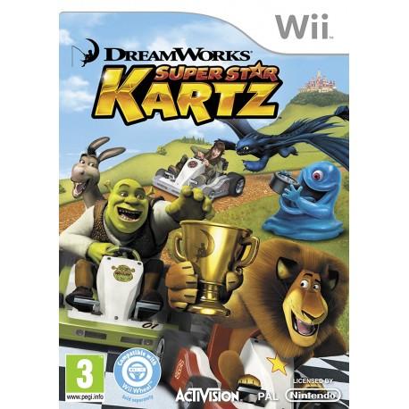 USATO DreamWorks Super Star Kartz WII USATO