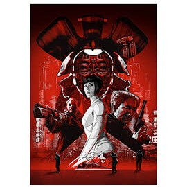 GHOST IN THE SHELL SCARLET JOHANSSON STEEL BOX
