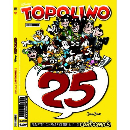 TOPOLINO SPECIALE CARTOOMICS n. 3250