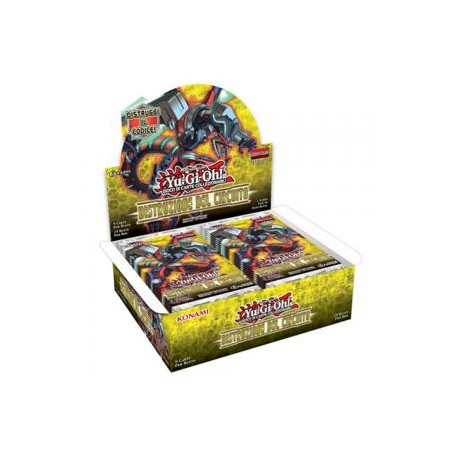 BUSTE YUGIOH DISTRUZIONE DEL CIRCUITO KONAMI CORPORATION UPPER DECK